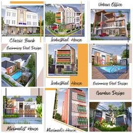ribuan karya kami, arsitek / desain rumah pengalaman 16 th di Madiun