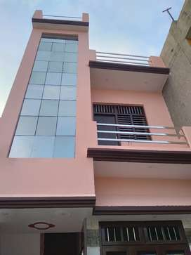 Double storey house with home loan available