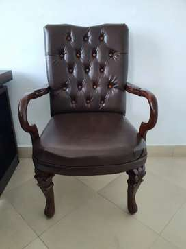 Visiting chair Wooden