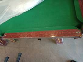 Pool Table & Hand Ball Game, (9/10 Condition )