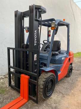 Forklift Toyota 3 ton Trheelift 4.7 meter 2018