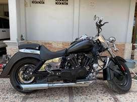 Motor Ruby Custom Harley Kaisar ruby v250
