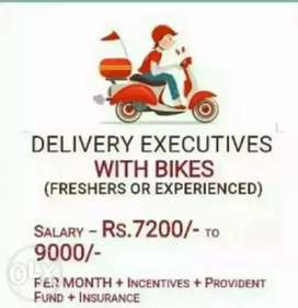 Delivery boy required for nuapada near ministadium
