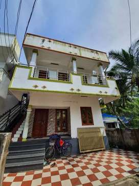 Upstair 2 BHK house for rent family or bachelors Rs. 8500