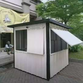 STAND BOOTH CONTAINER KEBAB / BOOTH BAZAR