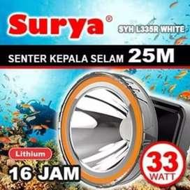 Senter kepala SELAM surya SYH l335R Water Resistant