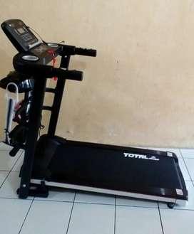 Treadmill listrik merk total 607