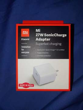 Mi 27w SonicCharger (1 month old) (QC 3.0 certified)