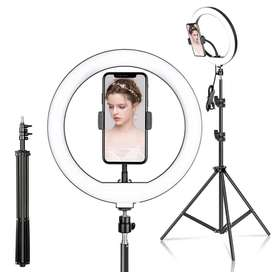 LED Ring Light 26CM with 7ft Tripod Steel Stand