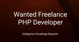 Wanted Freelance PHP Developer based in Kerala