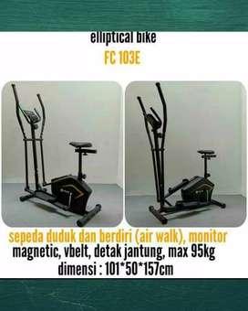 Sepeda fitnes eliptical fitclas bisa cod