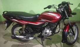 Bajaj platina red colour good body line