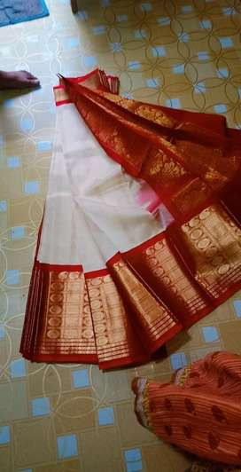 Kanchi border sarees