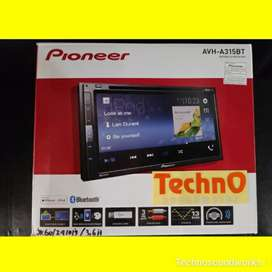 Tv mobil Pioneer a 315 bt dvd usb Bluetooth tape for paket sound