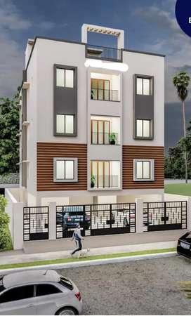 2bhk flat for sale in Kolathur