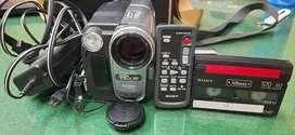 Antique Sony cassett Handycam