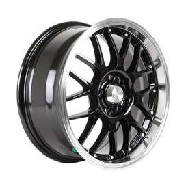 HSR velg Oita Ring-16X7-Hole-8X100-1143-ET42-Black-Machine1