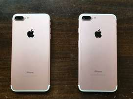 Weekend sale on Apple I phone 7+ model at best rate in the market (Ref