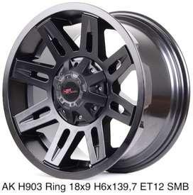 Velg Mobil Pajero AK H903 HSR R 18X9 H 6X139,7 ET12 SMB