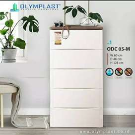 Lemari pakaian plastik ODC 05 olymplast