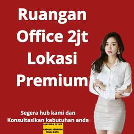 BEST DEAL Sewa Private Office FREE Virtual Office 1 Thn BSD Tangerang.