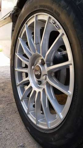 16 inch alloy rim and tyres for sale