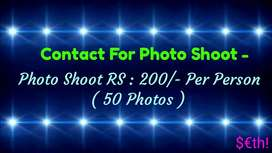 Contact For Photo Shoot ( RS : 200 Per Person )