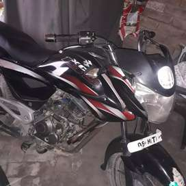 Red,black bajaj