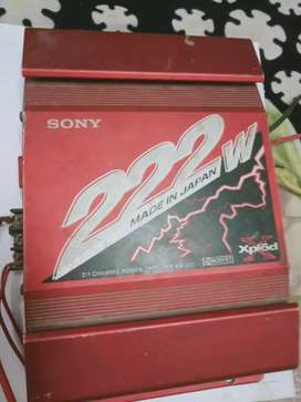 Sony xplod 222w