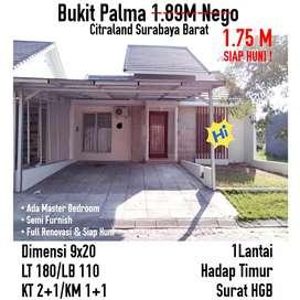 Siap Huni Minimalis Bukit Palma Clasica classica dkt nwp Citraland