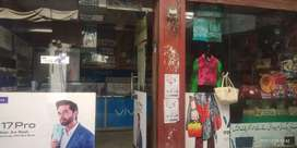Urgent sale Commercial Market hai sth main uper Portion Flat