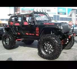 Rubicon modified jeep