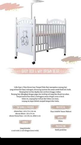 Baby box 4 way brown bear