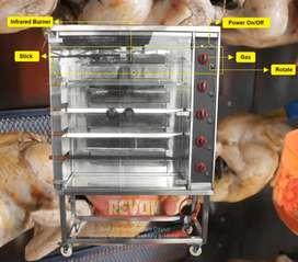 Perlengkapan usaha ayam guling oven / ayam panggang putar Tarakan