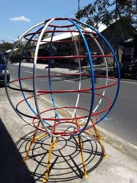 Bola dunia mainan anak- anak paud atau tk