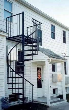 tangga putar t²