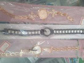 Fancy watches 3 pieces