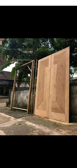 Pintu utama, daun pintu, kusen, jendela