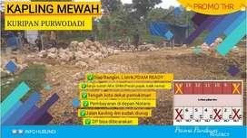Jual Tanah Kavling di dalam Kota Purwodadi Grobogan