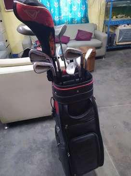Golf club set.