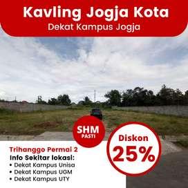 Dijual Tanah Jalan Godean Area Perumahan Trihanggo Permai 2