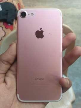 I phone 7 128 rose gold