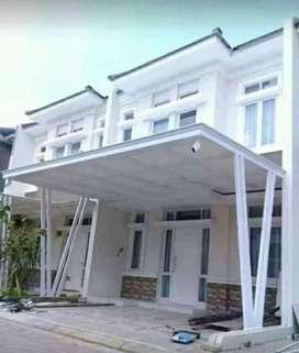 @59 canopy minimalis rangka tunggal atapnya alderon pvc bikin nyaman