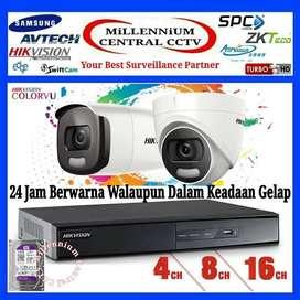 Paket CCTV Hikvision 6 Channel 5 MP HDD-1 TB Original 5MP