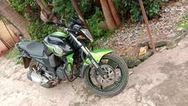 Yamaha Fzs Single Hand run with no scratch and running Smoothly ...
