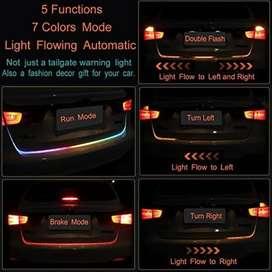 LAMPU LED TAIL TRUNK BAGASI BELAKANG ATRAKTIF RUNNING JALAN DRL RGB