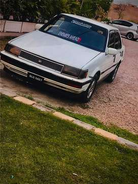 86 corolla in gud condition power steering Efi engine