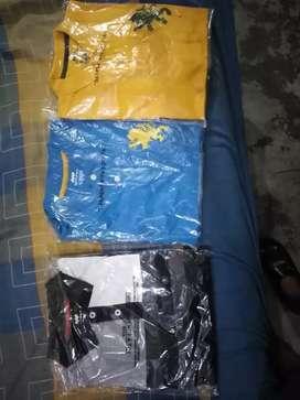 250 each half t shirt