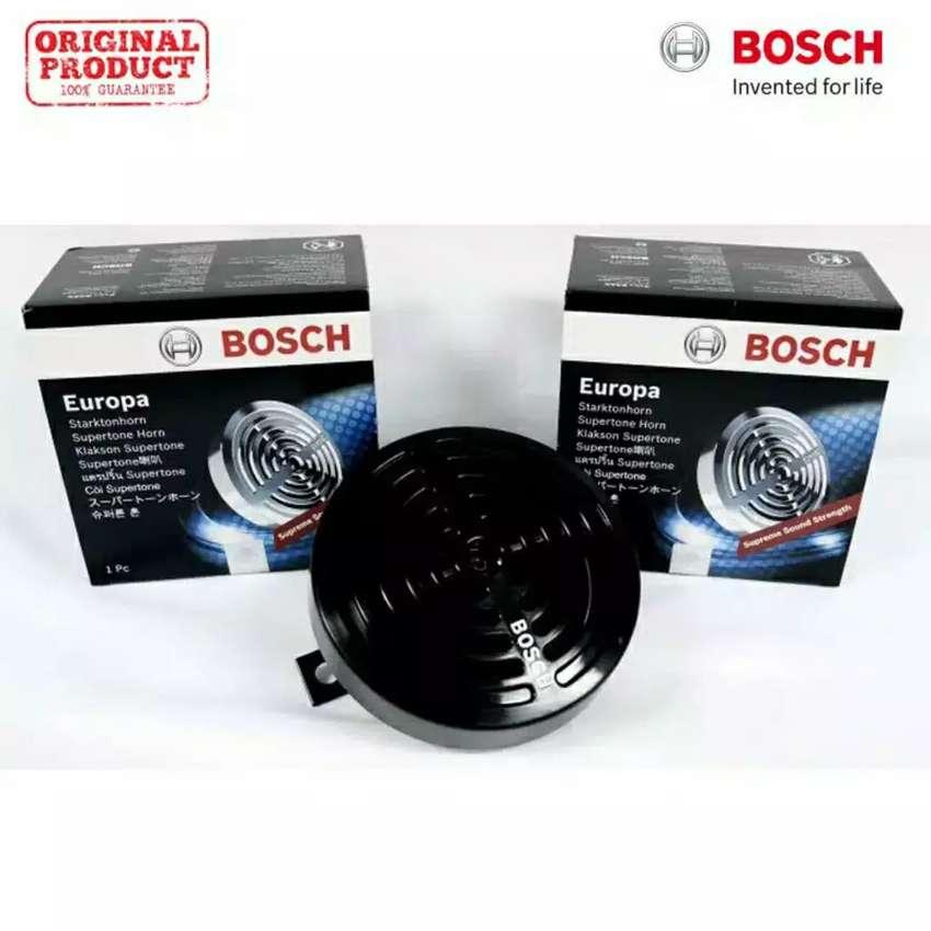 Klakson mobil bosch europa supertone drill black 12V 0
