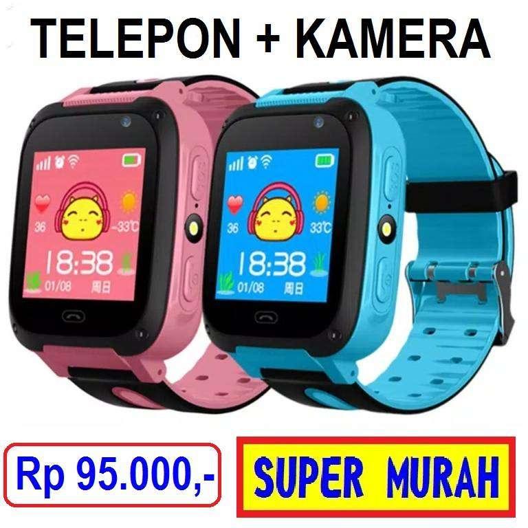 Jam Telepon Kamera Gps Pintar W19 Smartwatch Smart Watch Anak Telpon 0